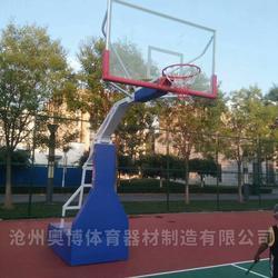 武汉室外篮球架奥博厂家图片