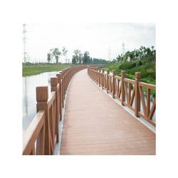 栖霞区塑木护栏哪家好-信誉好的塑木护栏厂商图片