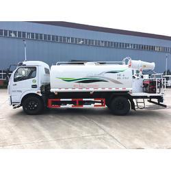 建筑工地小型降尘洒水车-东风8方多利卡绿化喷洒车配套30米雾炮图片