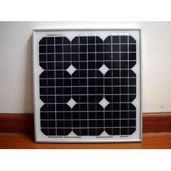 厂家直售ZD-40WP单晶太阳能电池板 太阳能电池板图片