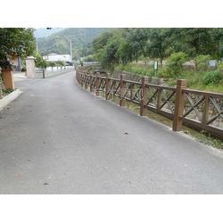 混凝土仿木栏杆-芜湖仿木栏杆-国尔园林景观(查看)图片