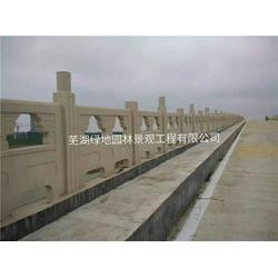 河道仿石栏杆定制-芜湖仿石栏杆-国尔园林景观图片