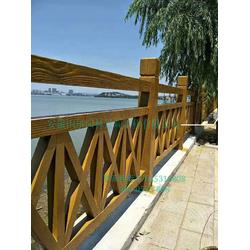芜湖仿竹栏杆-安徽国尔仿木栏杆厂家-园林仿竹栏杆定制图片