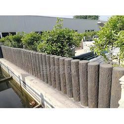 混凝土仿木花箱-芜湖仿木花箱-国尔园林景观图片