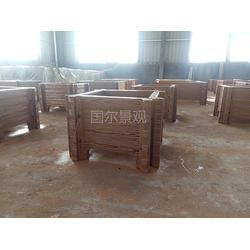 仿木铺板厂家-国尔园林景观-芜湖仿木铺板图片