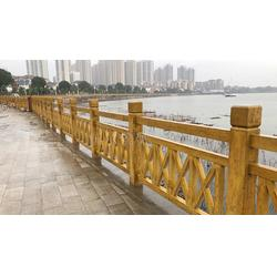 仿树皮栏杆多少钱 栏杆 安徽国尔仿木栏杆制作