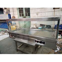 河北-厨房设备-主食保温台带玻璃罩-衡水厨房图片