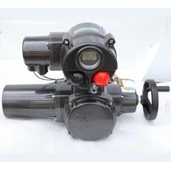 施耐德電動執行機構帶有就地操作手輪以及就地液晶屏顯示圖片