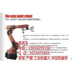 五轴冲压机器人|上下料机械手|五金机械手图片