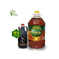银川胡麻油厂家-划算的宁夏胡麻油哪里有卖图片