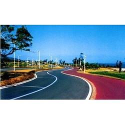 新疆彩色防滑材料-选购质量好的宁夏彩色防滑材料供应,就来万达建业体育设施图片