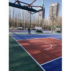 宁夏硅PU材料-想买高品质宁夏硅PU材料就到万达建业体育设施图片