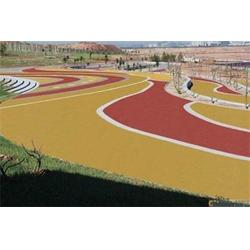 新疆彩色防滑材料報價-銀川可靠的寧夏彩色防滑材料供應供應商圖片