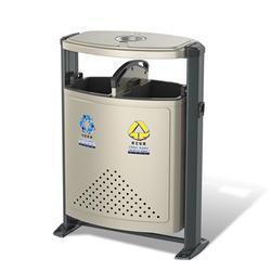 钢结构户外垃圾桶72升分解压制成型图片