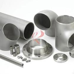 钛管件厂家 45/90/180度钛弯头 钛三通 钛四通 钛盘管图片