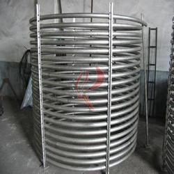 鈦盤管廠家 散熱管 u型,蛇形,圓形盤圖片