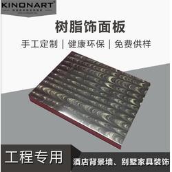 供应mix特殊饰面板 kinon进口树脂板 展柜台面树脂装饰板厂家图片