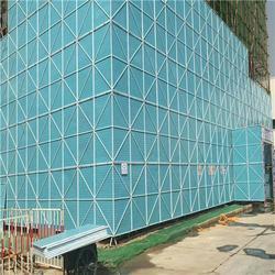 建筑爬架防护网-新型防护网-安平县烨科冲孔网厂图片
