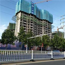 建筑外围爬架网-建筑爬架防护网-安全性更高的防护网图片
