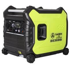 3KW电启动数码变频静音汽油发电机多少钱图片