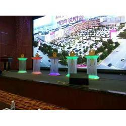 专业租售亮灯钥匙启动仪式道具发光立柱鎏金沙启动台图片