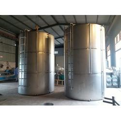 不锈钢酒罐-曲阜融达质优价廉-10吨不锈钢酒罐图片