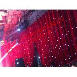 顺泰万里st舞台幕布 专业定做舞台阻燃星空幕 星光幕 舞台星空幕布图片