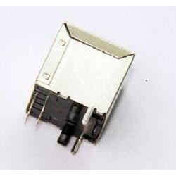 兴伸展电子8P8C单口焊线式网络母座/RJ45连接器网络插座图片