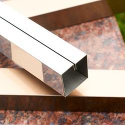 不锈钢线条定制 U型槽收边条图片