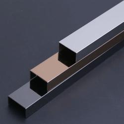 不锈钢U型槽装饰线条 定制304不锈钢线条图片