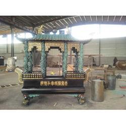 鼎泰雕塑-圆形铜香炉图片