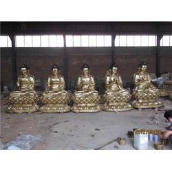 牡丹江铜如来 鼎泰雕塑 贴金铜如来