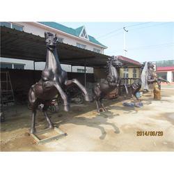 鼎泰雕塑 定做大型铜马厂家-鞍山定做大型铜马图片