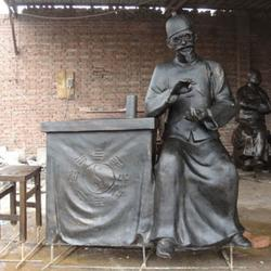 城市雕塑-鼎泰铜雕厂家-保定城市雕塑图片