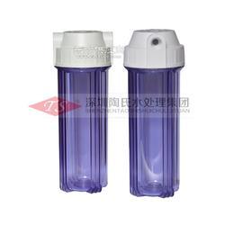 10寸外扣透明瓶家用净水器前置滤瓶 滤芯外壳图片
