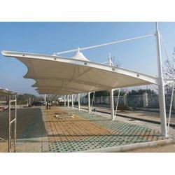 廠家供應膜結構停車棚-深圳膜結構停車棚廠家圖片