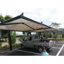 膜结构车棚价位-深圳膜结构车棚推荐图片