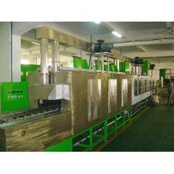 工业用五金行业通过式多槽全自动精密五金转动超声波清洗机定制图片