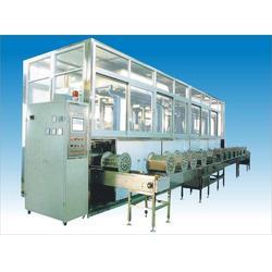 工业用五金行业通过式多槽全自动精密五金超声波清洗机定制图片