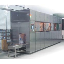 工业用五金行业通过式多槽CF-TFT 玻璃蚀刻、脱膜清洗机定制图片