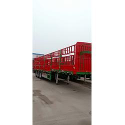 仓栅式13米栏板式轻型半挂车配置图片
