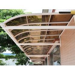咸阳铝合金停车棚厂家-哪里能买到质量好的雨棚图片