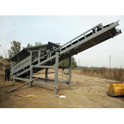 搅拌站筛分沙石的机械沙场筛沙机图片