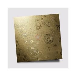 供应高比不锈钢电镀镜面乱纹蚀刻板 可定制图片