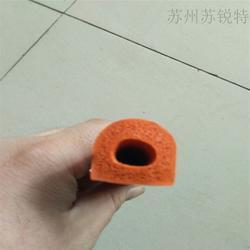 异型发泡密封条 食品级硅橡胶图片