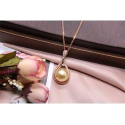 南洋金珠项链-有口碑的南洋珍珠珠宝生产厂家图片