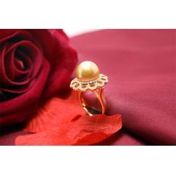 手工珍珠项链加工-销量好的南洋珍珠戒指生产商是哪家图片