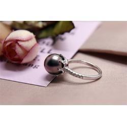 大溪地黑珍珠颜色分类-肇庆品质黑珍珠戒指供应图片