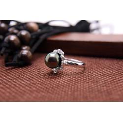 大溪地黑珍珠多少-肇庆哪里有供应质量好的孔雀绿珍珠图片