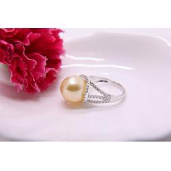 大溪地黑珍珠耳坠-金麒福珠宝为您提供高质量的南洋珍珠戒指图片